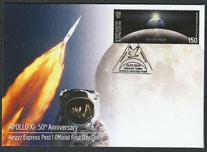 Kyrgyzstan-2019-Space-Apollo-11-50th-Anniversary-Moon-Landing-FDC