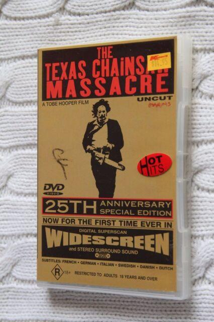 Texas Chainsaw Massacre (DVD) R-4, Like new and no mark , free shipp