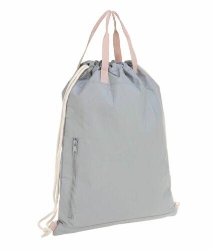 Décontracté Green Label tyve String Bag Sac de Sport Sport Sac à dos grey gris