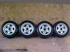 "Ferrari 512 BB Boxer Wheels_Michelin Tires_Hubs_365 GTB/4 Daytona 9"" Rears OEM"