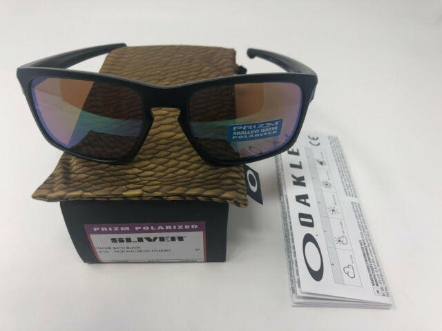 dda5f6fb9080 Oakley SI Sliver Prizm Shallow Water Polarized Oo9262-34 Sunglasses Eye Wear