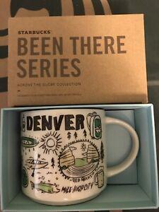 Starbucks Coffee Been There Series 14oz Mug DENVER Cup w/SKU