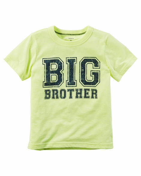 """~NEW~ /""""BIG BROTHER/"""" Baseball Boys Graphic Shirt 2T 3T 4T 5T 4 5 6 7 Kids Gift!"""