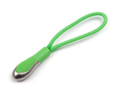 10 Pendentif boucle Vestes remorque Zipper Fermeture Eclair Pendentif Argent