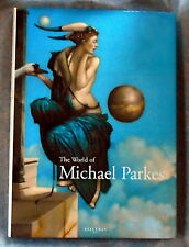Signed Ltd Edition Michael Parkes-The World Of Michael Parkes Stated First Ed.