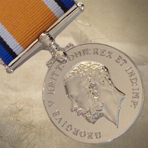 BRITISH-WAR-MEDAL-WWI-WORLD-WAR-ONE-SERVICE-MILITARY-ARMY-REPLICA