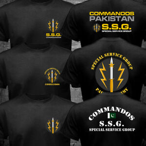 Details about New SSG Commandos Pakistan Special Forces Service Group Army  Military T-shirt