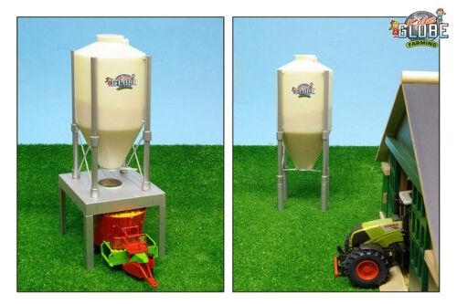 Kleinkindspielzeug Van Manen Kids Globe Silo 30/36 cm Ständer Zubehör Bauernhof Landwirtschaft