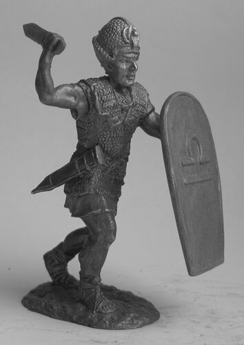 tin 54mm EG18 Tin 54mm Egyptian Pharaoh Ramesses with Sword