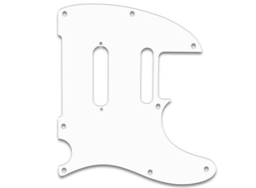 FENDER 3PLY WBW PG WHITE PICKGUARD USA QUALITY TELECASTER MODERN PLAYER PLUS f