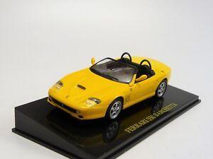 Ferrari-F550-Barchetta-Amarillo-Ixo-Specialc-Nuevo-en-Embalaje-Original-1-43