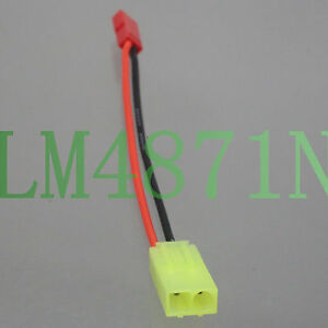 Mini Tamiya Female to JST Female Adapter 20AWG 10CM cable For RC lipo battery