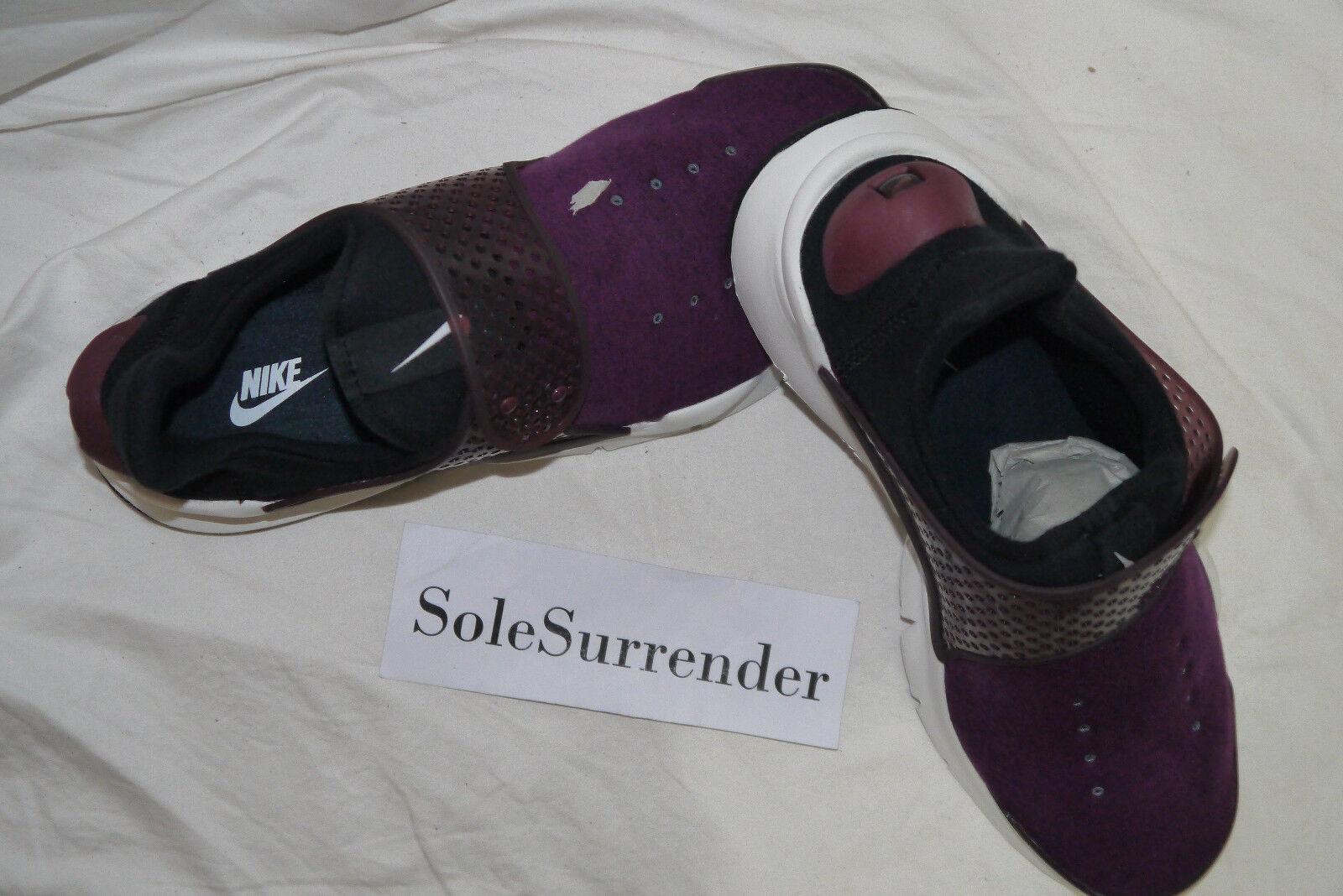 Nike Sock Dart Tech Fleece - SIZE SIZE SIZE 10 - 834669-501 Mukberry White Black QS SP a42730