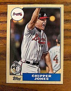 2017-Topps-Chipper-Jones-1987-30th-Anniversary-Braves