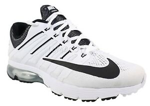 a11704112a7 Preowned Nike Air Max Excellerate 4 Mens White Black Running Shoes ...