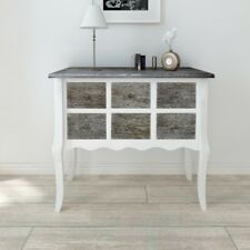 Hallway Table Console Shabby Chic Chest Drawers Cabinet Storage Wooden Sideboard