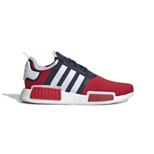 Details about Addidas Nmd R1 Mens Blue/red/white Size:10