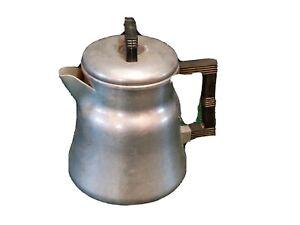 Wear Ever Aluminum Coffee Pot Model # 3006 Hot Water Percolate Drinks