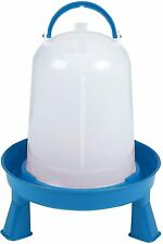 Double Tuf Poultry Waterer With Legs For Chickens Amp Birds 3 Quart