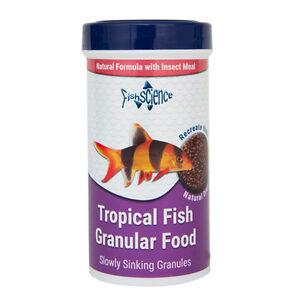 Fish-Science-Tropical-Fish-Granular-Food-240g-Aquarium-Natural-Insect-Meal