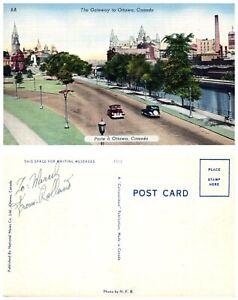 CANADA-Postcard-The-Gateway-to-Ottawa-A7