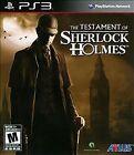 Testament of Sherlock Holmes (Sony PlayStation 3, 2012)