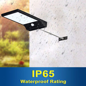 Outdoor-Wireless-Solar-Powered-36-LED-Light-Outside-Garden-Security-Bright-UK