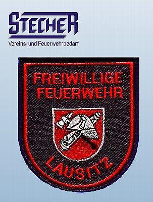 Feuerwehr Ärmelaufnäher Lausitz  Neu