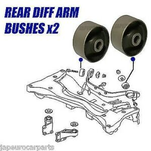 Differential Support Arm BUSH Mount Mounting FOR HONDA CIVIC 01-05 Rear Diff