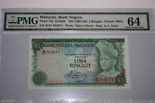 (PL) RM 5 B/24 782677 PMG 64 AZIZ TAHA 4TH SERIES NOTE