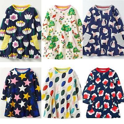 Mini Boden Long Sleeve Hotchpotch Dresses 1 2 3 4 5 6 7 8 9 10 11 12Yrs