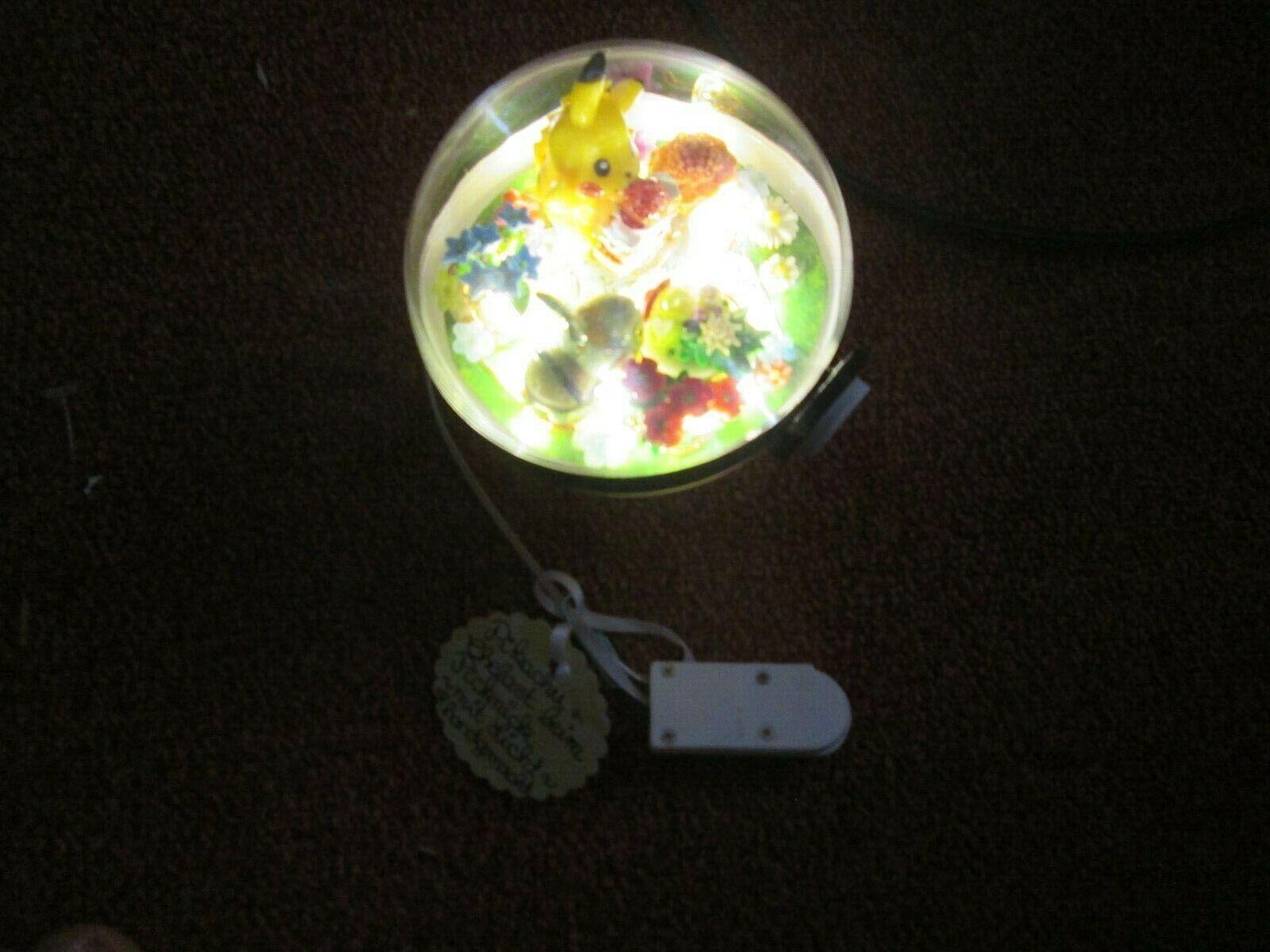 Pokemon 3D LED Licht Kristall Kugel Pikachu.Chelast Selber gemacht mit Licht