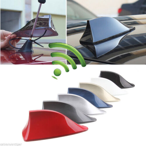 Car Auto Roof Radio AM//FM Signal Shark Fin Aerial Antenna Replacement Universal