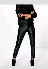 7c27595165d94 Boohoo Carmilla Scuba Super Stretch SKINNY Trousers 10 Black for ...