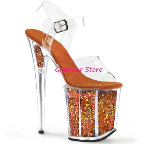 Glamour 35 Sandali Dal Scarpe Al Plateau Vari Tacco Sexy 20 40 Colori Glitter Sfqxww7Cp