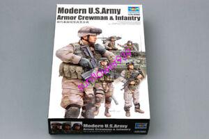 Trumpeter-1-35-00424-U-S-Armor-Crewman-amp-Infantry