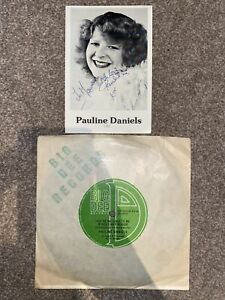 """Pauline Daniels – You're No Good To Me If You Can't Boogie 7""""+ Signed Photo"""