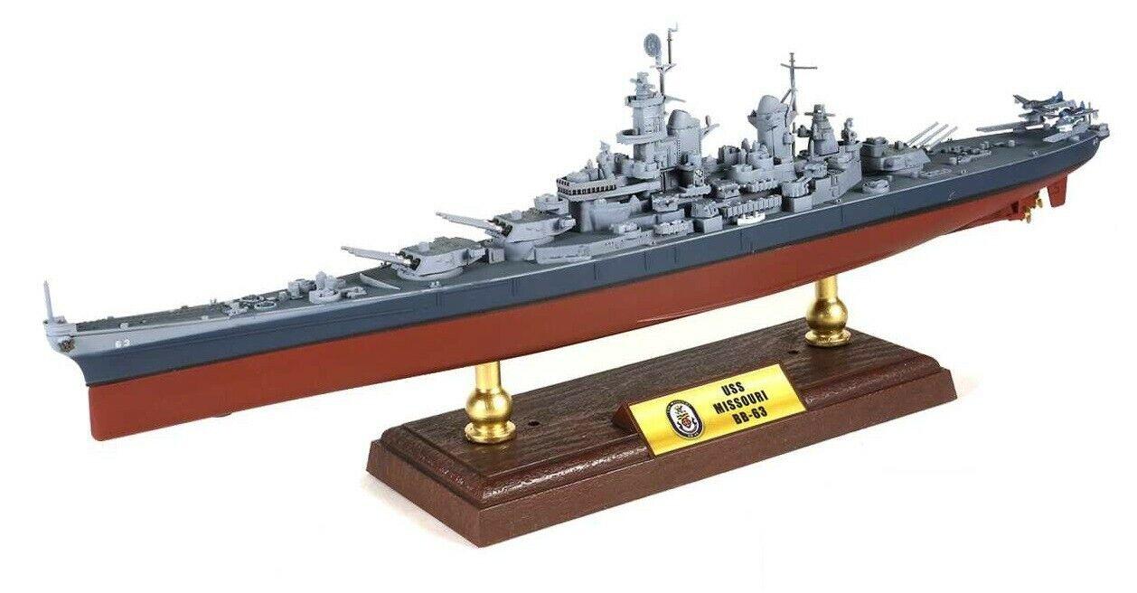USS Missouri BB-63 Mighty Mo Iowa-class battleship US Navy FOV Unimax 861003