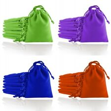 Velvet Jewellery Gift Bags Drawstring Pouches Soft 7x9 8x10 10x12 12x16 15x20cm