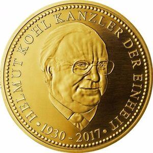 Helmut Kohl Kanzler Der Einheit Gedenkprägung Münze 1 Medaille