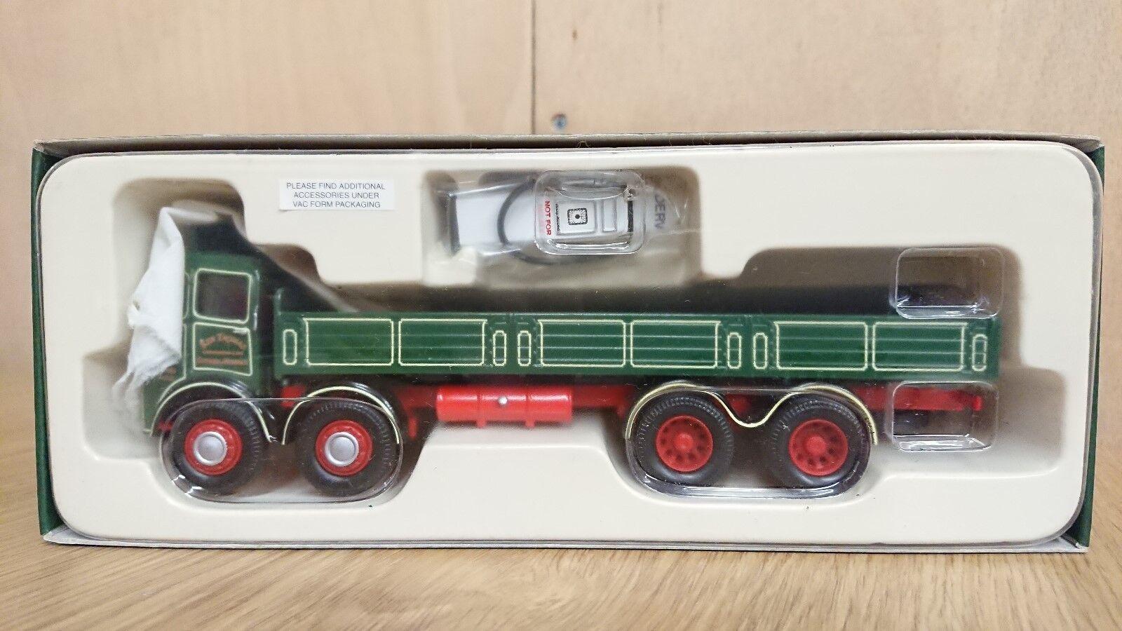 Corgi 10103 ERF V 8 Wheel Dropside Lorry KEN THOMAS Ltd Ed No. 0002 of 2000