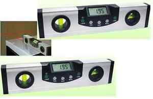 DIGITAL LASER LEVEL ANGLE INCLINE PROTRACTOR ELECTRONIC ANGLE GAUGE