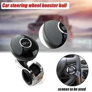 Automobiles & Motorcycles Sporting Car Truck Steering Wheel Aid Power Handle Assister Spinner Knob Ball Black