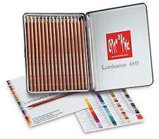 Caran D'ache Luminance Coloured Pencil 16 Colour Tin