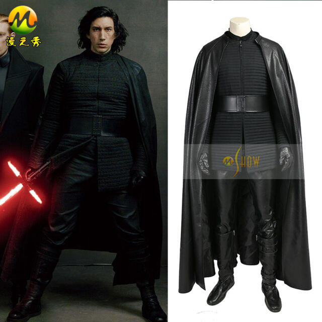 XCOSER Kylo Ren Costume Star Wars Full Suit Cosplay Outfit for Halloween Party