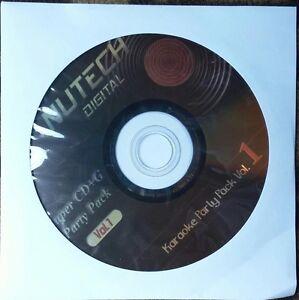 NUTECH KARAOKE #1 SCDG 1234 SONGS ROCK,COUNTRY,OLDIES,POP MULTIPLEX