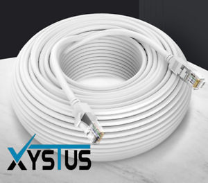 CAT6 RJ45 Ethernet Network High Speed LAN Patch Cable 1M to 30M Wholesale WHITE
