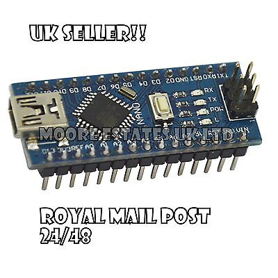 Nano V3 For Arduino with CH340G 5V 16M compatible ATmega328P UK Seller