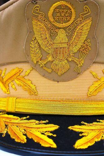 US ARMY GENERAL DOUGLAS MACARTHUR AUTHENTIC UNIFORM NEW KHAKI HAT FREE SHIPPING
