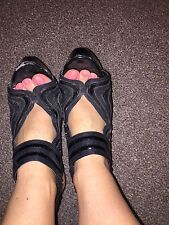 Ladies Well Worn Shoes